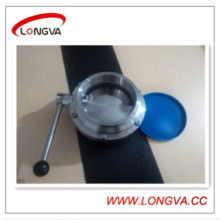 Stainless Steel 304 Large Size Sanitary Butterfly Valve