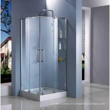 Porta quadrada do chuveiro da forma HD149-Z