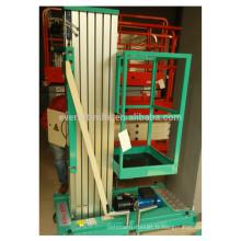 Paltform de travail en aluminium mobile (mât simple)