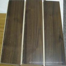 Piso de madera de ingeniería de nogal negro de Estados Unidos