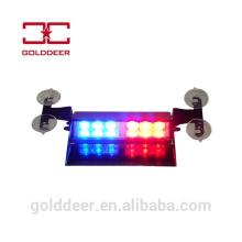 Parabrisas luz LED ADVERTENCIA tablero luz del estroboscópico del coche de policía