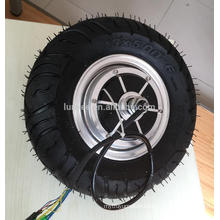 """Wide tyre design 12"""" Hub Motor Wheel Electric 60v 1000w For Transport Vehicle Electric"""