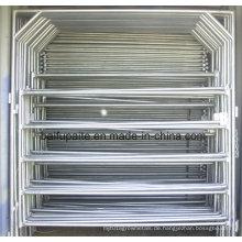 Bauernhof-Zaun-Platten-Eisen-Zaun-Aluminiumzaun-Platten leicht zusammengebaut und auseinandergebaut