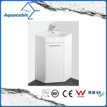 White Color Bathroom Corner Vanity Cabinet (ACF6060)