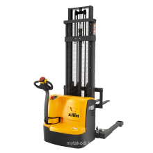 Xilin 1500kg 3300lbs 5.6M Economical and Practical Straddle Full Electric Stacker Forklift