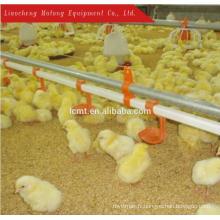 Équipements automatiques d'alimentation de volaille poulet gril plancher / sol système