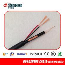 Cable caliente vendiendo Rg59 CATV Cable Rg59 de la cámara del CCTV del cable de la seguridad Rg59 de la alta calidad 2c