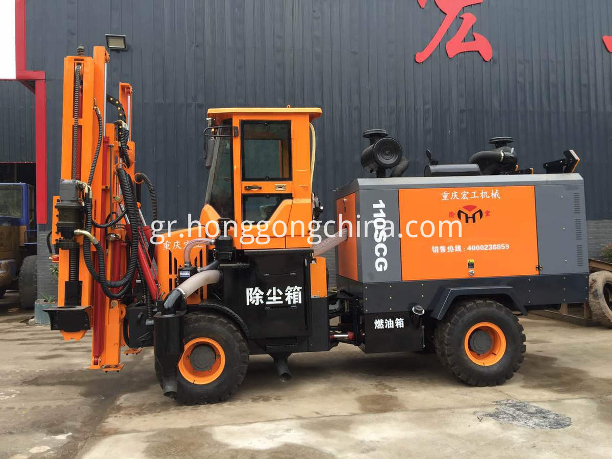 Post Piling Extracting and Drilling Machine