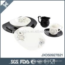 27 pcs porcelain Dinner set, samll set porcelain, colored set porcelainware