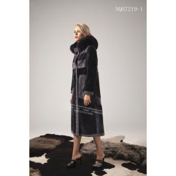 숙녀 스페인 Merino Shearling Coat