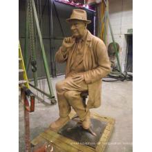 Infamous Preston Künstler schlägt Bronzeskulptur BS024A