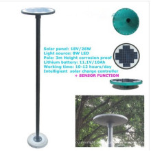 novo movimento infravermelho sensor solar luzes led, luz solar do jardim barato com sensor de movimento