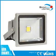 Luz de inundação exterior alta do diodo emissor de luz dos pontos da luz do diodo emissor de luz da inundação do lúmen 50W