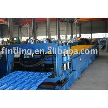 Stahlfliese Profiliermaschine