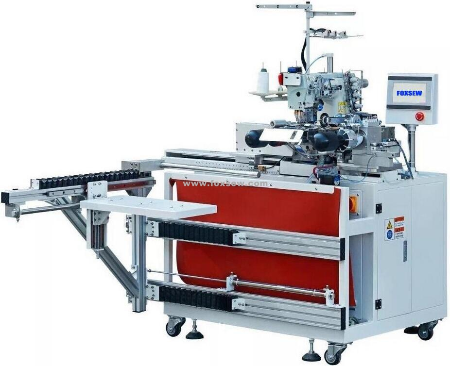 Automatic Tubular Coverstitch Bottom Hemmer Fx At300