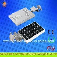 Luz de rua solar 12W do diodo emissor de luz do projeto o mais novo do poder superior