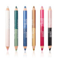 Dubbelslutad multicolor Glitter Eyeliner Pencil Eyeshadow