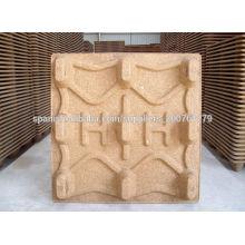 Wood pallet molding press