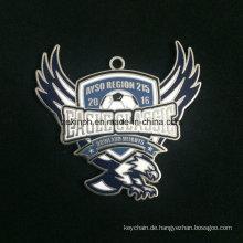 Benutzerdefinierte Znic Legierung Medaille für Eagle Classic