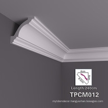 Easy installation PU Decorative Crown Moulding for House