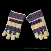 Cowhide Glove for Factory with More Comfortable Performance