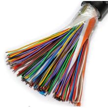100/200/300*2*0.5 polyolefin insulated plastic coating aluminum tape adhibit shielding polyolefin jacke city communication cable