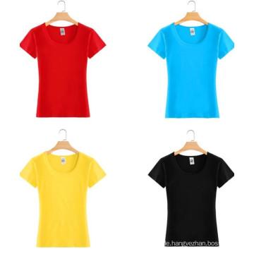 Top-Qualität billig ausgestattet Mode Baumwolle Mädchen T-Shirt