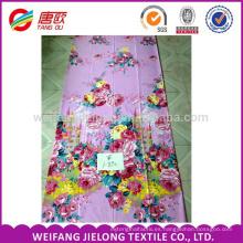 impresión dispersa de la impresión del pigmento de la tela de poliester impermeable para Bedsheet