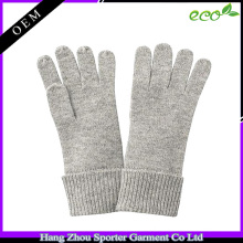16FZCG04 knitted glove for girls fall winter cheap cashmere glove