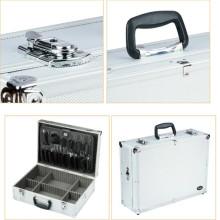 Profesional caja de herramientas de aluminio de aleación de aluminio (con Coded Lock)