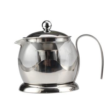 Bule Infusor de Chá para 4 Xícaras (Aço Inoxidável)