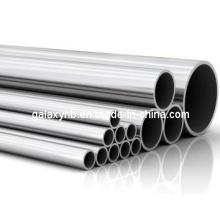 Tubo de titânio de alta precisão e alta qualidade