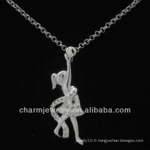 Lovely Silver Plated Angel Pendentif 2013 PSS-023