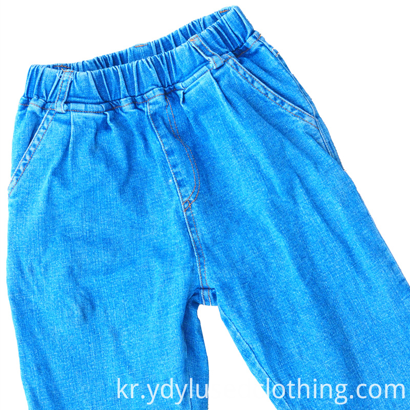 Wholesale Used Cropped Jeans Bales