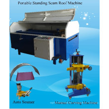 Portable Standing Seam Roofing Machine