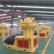 Anneau de biomasse de l'énergie 1.5t / H meurent la machine en bois de granule avec du CE
