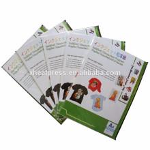 Papel de transferência de sublimação de calor de qualidade superior para tecido