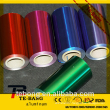 Newest product!!!!! Vacuum adsorption foils colored foil for food in color box