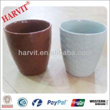 Clay Pot Outdoor Flower Large / Garden Decor Ceramic Decorated Flower Pot / Food Grade Flower Pots