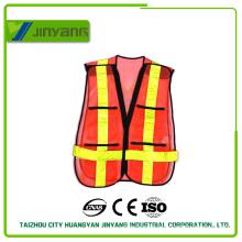 high visibility reflective safety vest