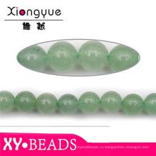 Полудрагоценный камень, зеленый природных Бусины Оптовая