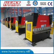 Prensa plegadora hidráulica de acero al carbono tipo pequeño WC67Y-40X2000