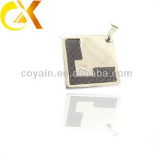 china alibaba Stainless Steel Jewelry men's pendant, square shaped pendant