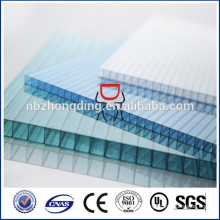 UV покрытие сорт 4мм/5мм/6мм/8мм/10мм поликарбоната полый лист пикокулона для сарая