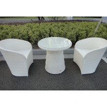 3Pcs Bar Furniture Leisure Dining Outdoor Chair