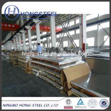 Stabilste Qualität 304 Edelstahlplatte 304 Edelstahlplatte aus der besten Stahlfabrik Baosteel