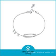 Best Selling Silver Wire Women Bracelet (B-0022)