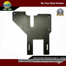 Анодированный CNC алюминиевые части металлического листа плиты CNC подвергая механической обработке