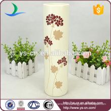 2014 Jarrón decorativo de cerámica de la boda, floreros de la pieza central de la boda