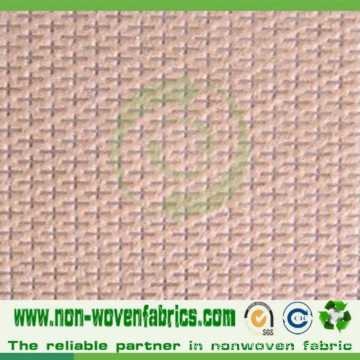 PP Nonwoven Fabric in Cross-Design in High Quality Cambrelle100%